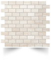 Supernova Onyx Wall Pure White Brick Mosaic 30,5x30,5 Atlas Concorde