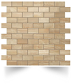 Supernova Onyx Wall Royal Gold Brick Mosaic 30,5x30,5 Atlas Concorde